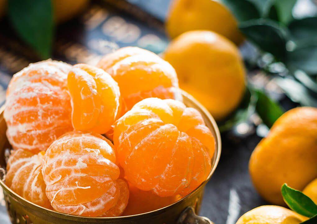 frisse mandarijnen